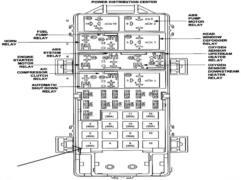 2013 jeep wrangler fuse diagram