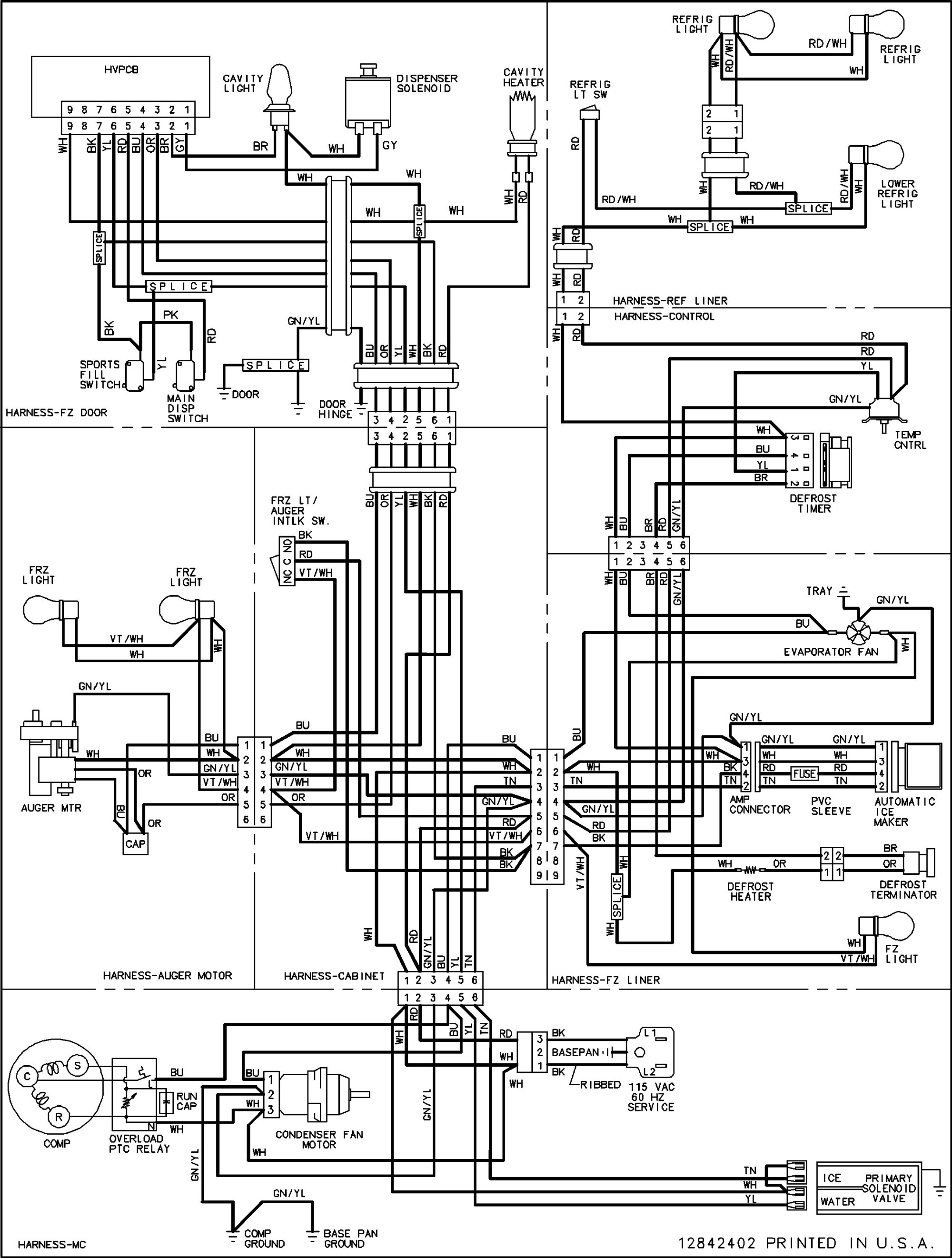 hight resolution of ge ice maker schematic