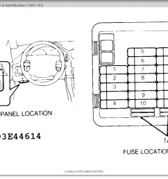 92 dodge stealth fuse box wiring diagram sample [ 1206 x 844 Pixel ]