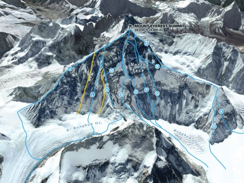small resolution of north face everest routes courtesy martin gamache jaime hritsik chiqui esteban ng