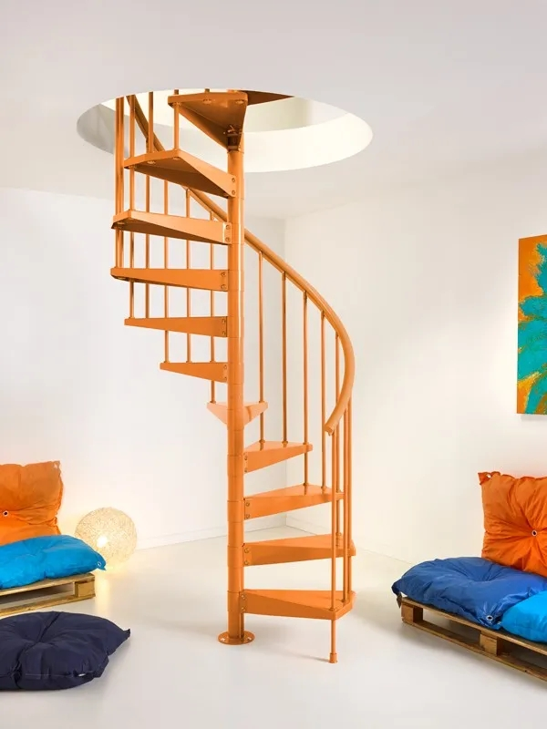 8 Advantages Of Spiral Staircases In Your Home Captain Bobcat | Metal Spiral Staircase Cost | Iron | Deck | Stainless Steel | Stair Parts | Staircase Kits