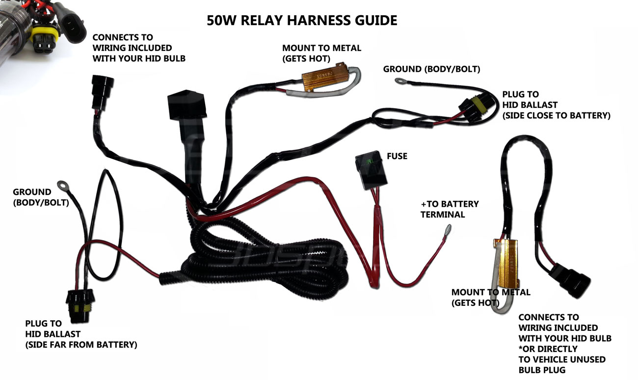 hight resolution of hid kit installation guide