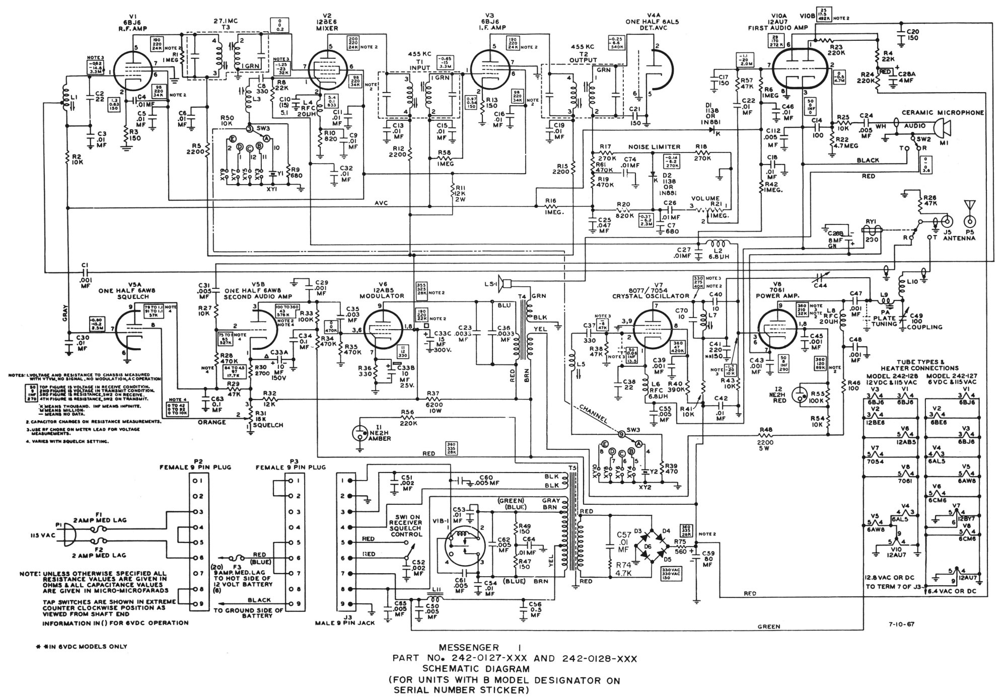 hight resolution of astatic d 104 wiring diagram