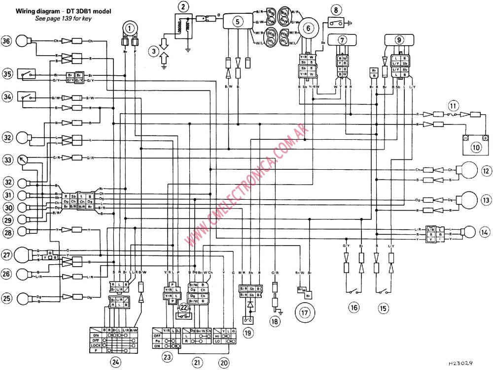 medium resolution of yamaha xs wiring diagram