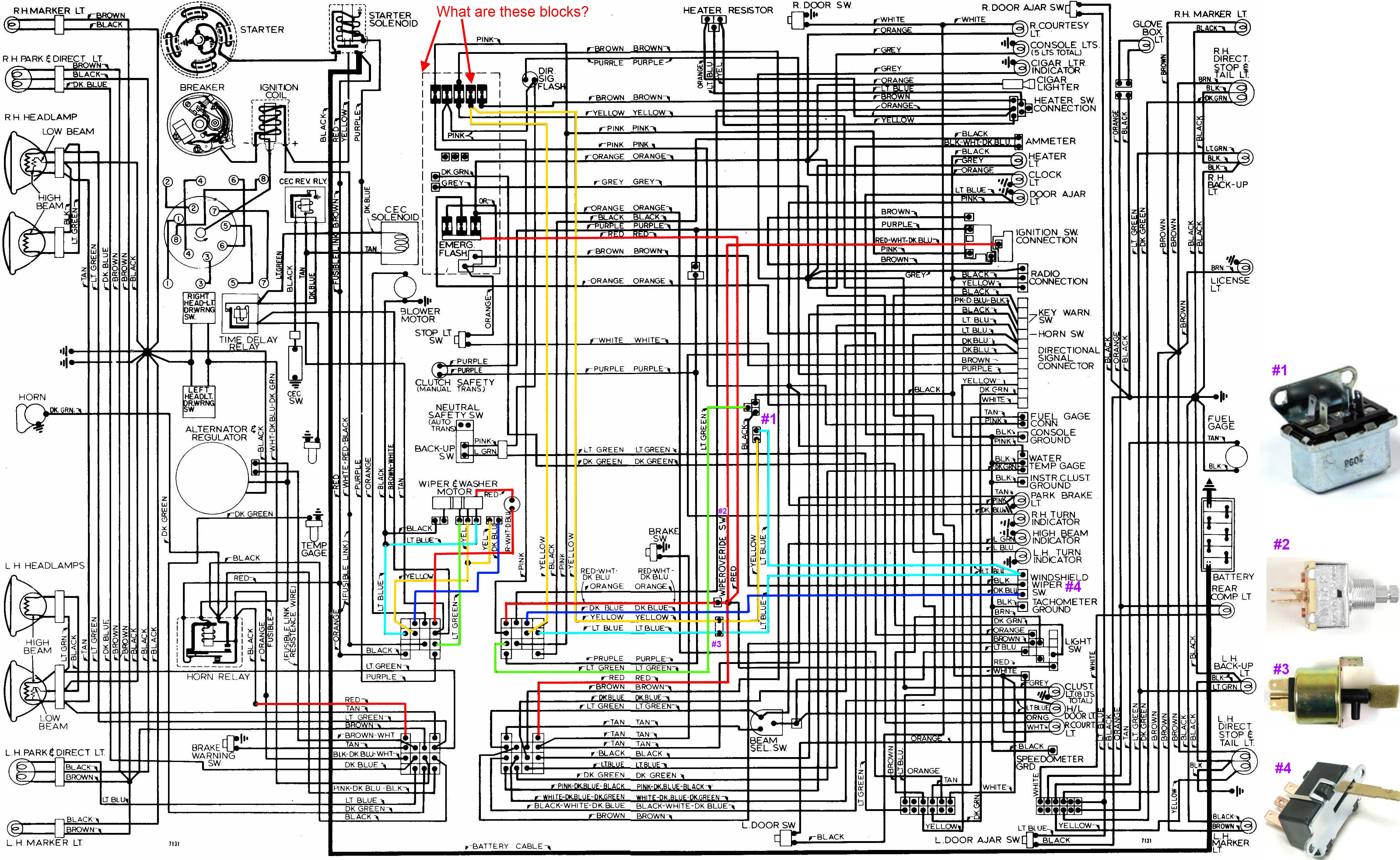 small resolution of  chevy truck headlight wiring diagram on chevy wiring harness diagram 1971 chevy pu wiring
