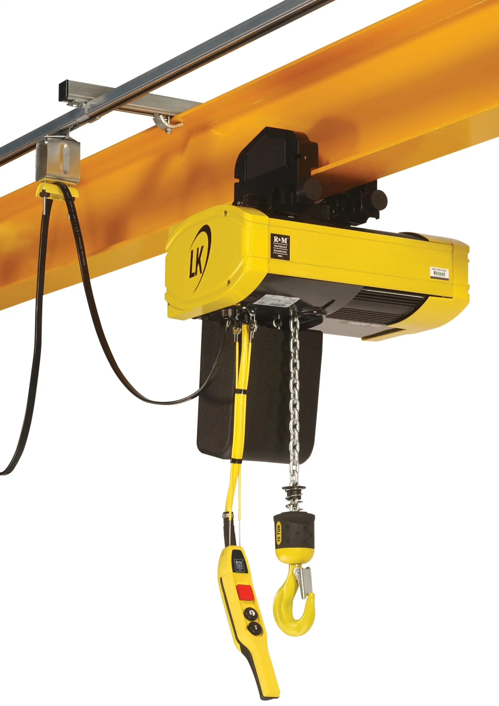 hight resolution of low headroom electric chain hoists available