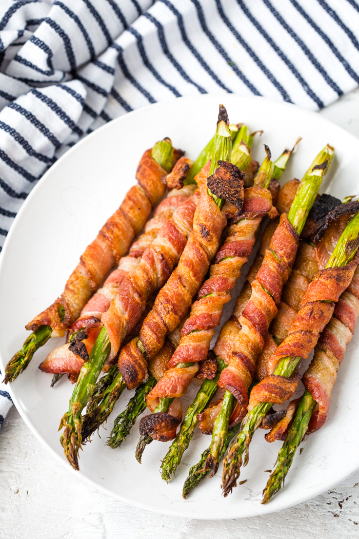 Bacon Wrapped Asparagus Easy Peasy Meals