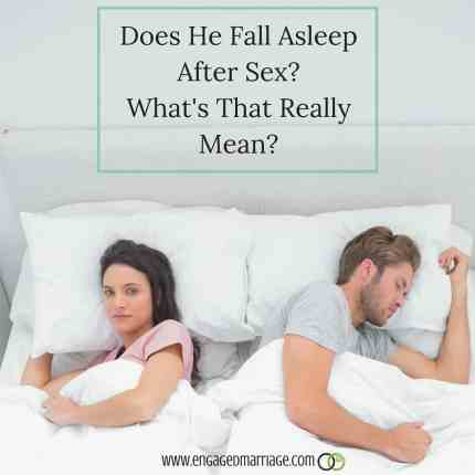 Does He Fall Asleep After Sex? What's That Really Mean ...
