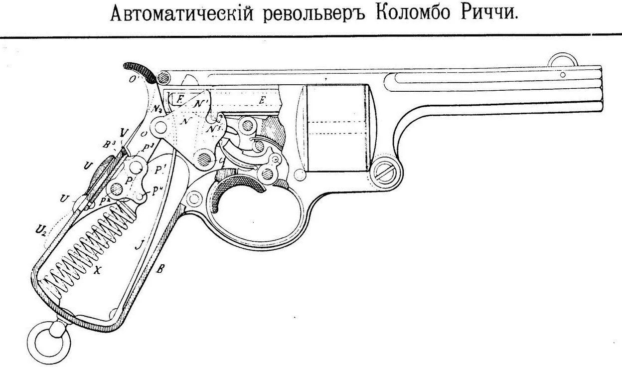hight resolution of colombo ricci automatic revolver schematic