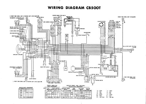 small resolution of 76 cb500t wiring diagram