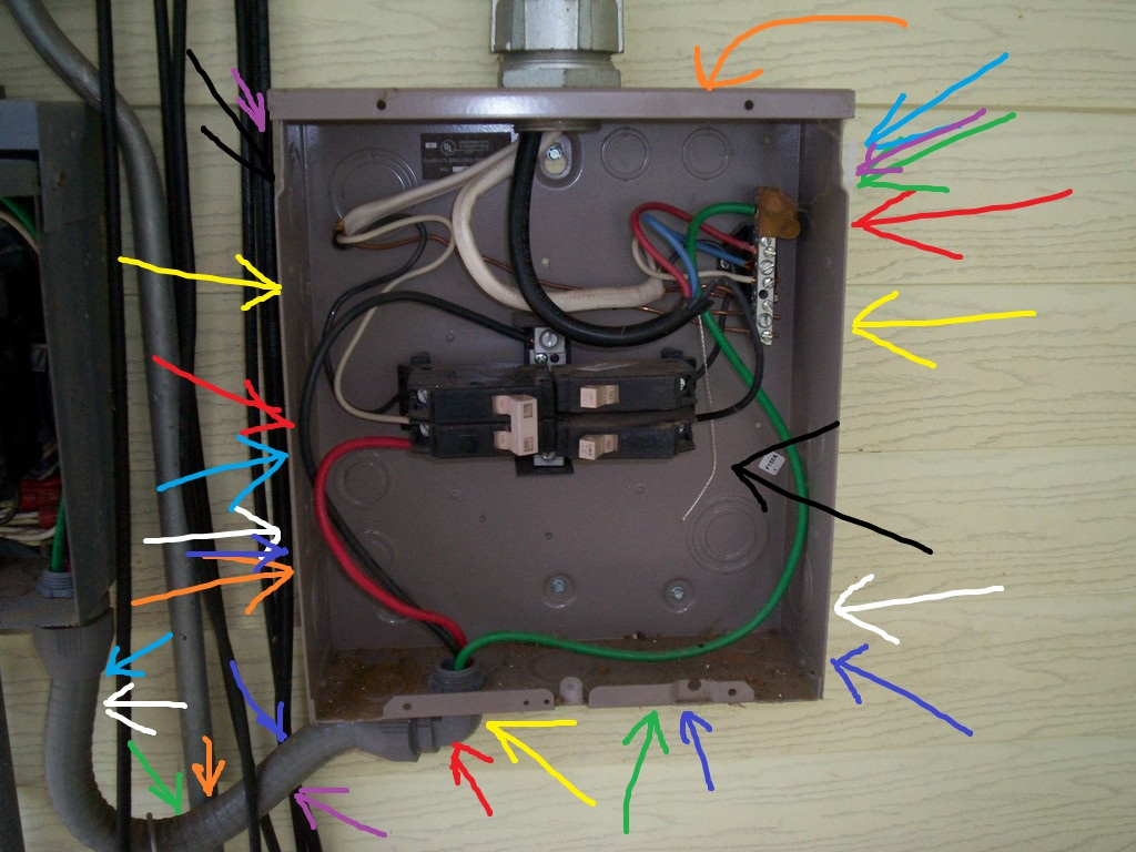 why replace home electrical wiring the panel everything just 80 amp sub panel wiring [ 1024 x 768 Pixel ]