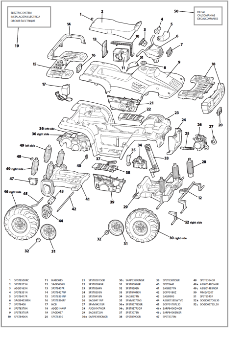 small resolution of polaris sportsman 700 yellow igod parts