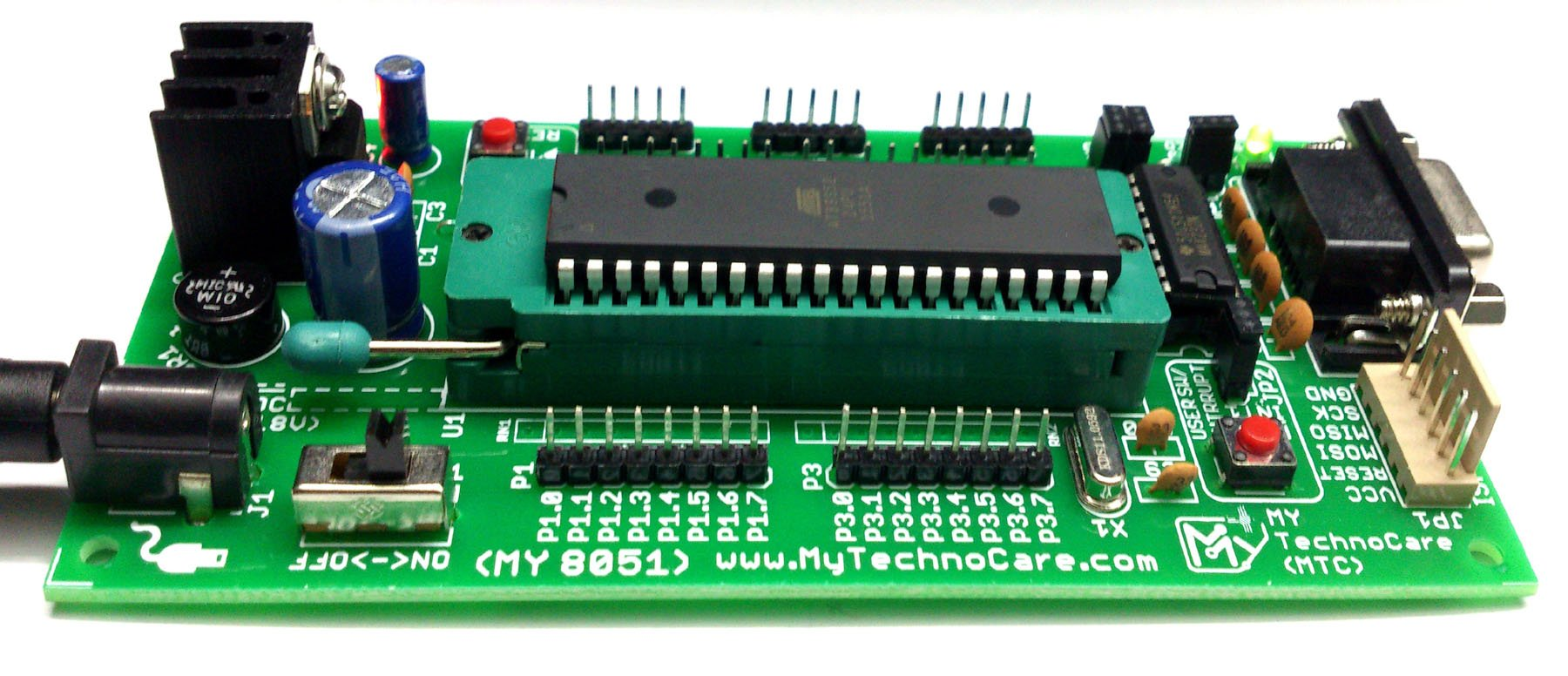 how to programmer 8051 microcontroller chip 89s52 board interfaceing 16x2 lcd usb programmer low price at89s52 [ 1800 x 776 Pixel ]