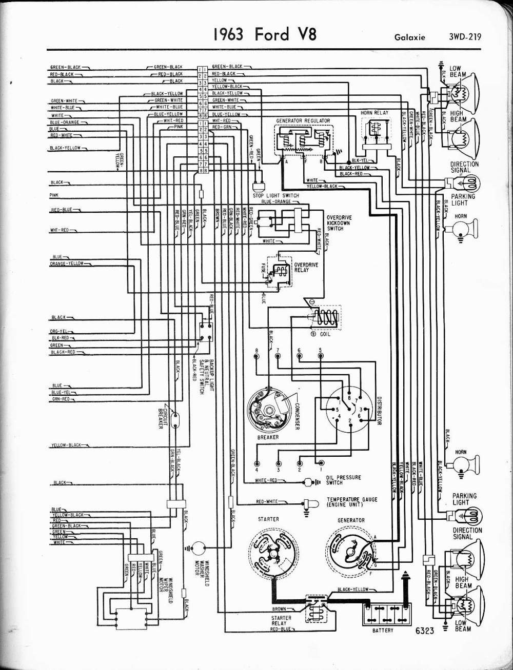 medium resolution of 1963 lincoln brake light wiring wiring diagram1963 ford galaxie wiring diagram wiring diagram database57 65 ford