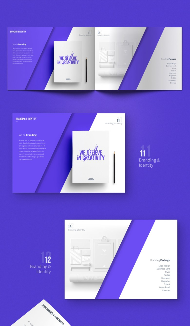 Carsive 18 Pages Brochures Template 05