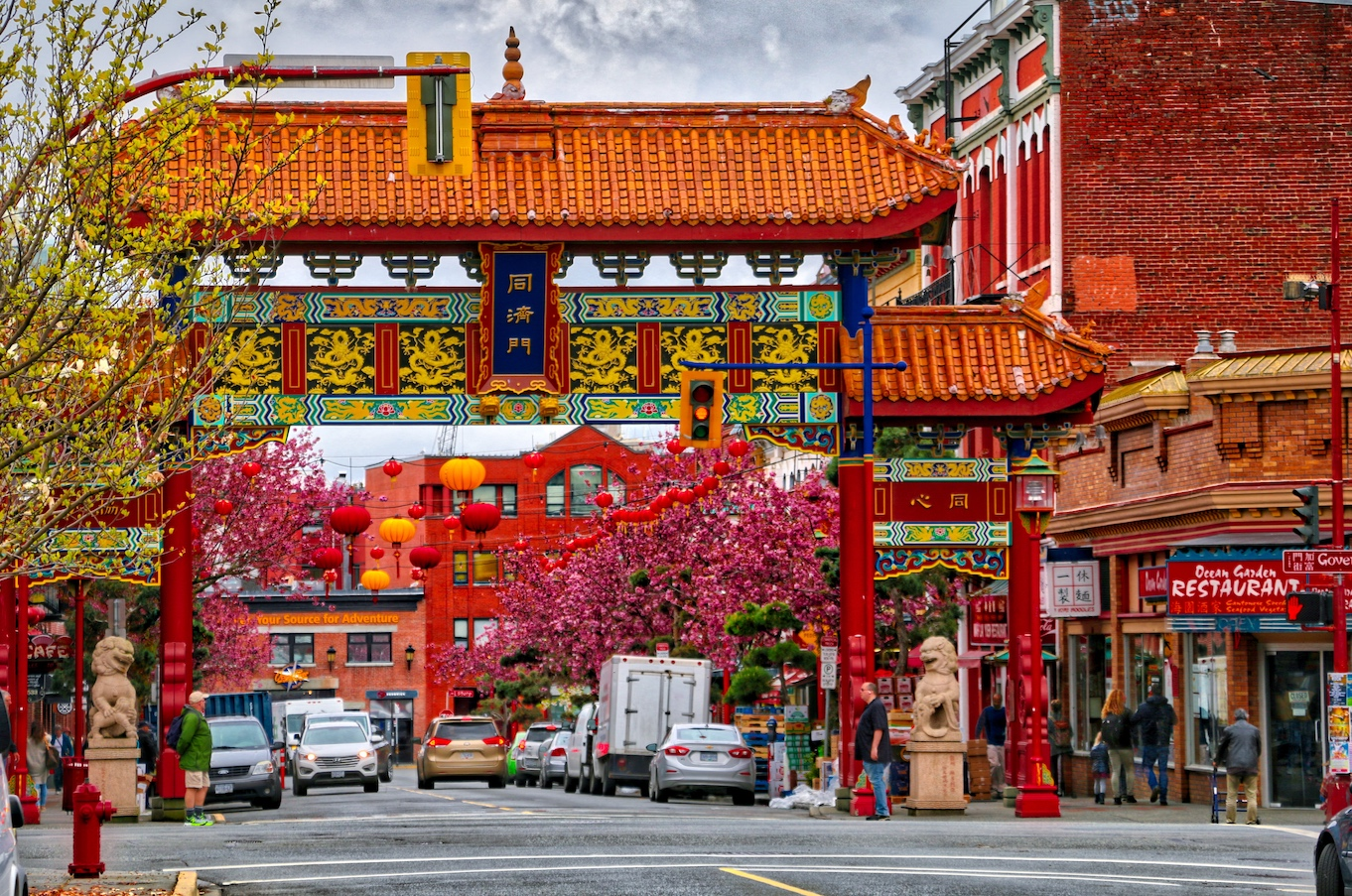 VICTORIAS CHINATOWN IN THE SPRING  Our Home Has 6 Wheels