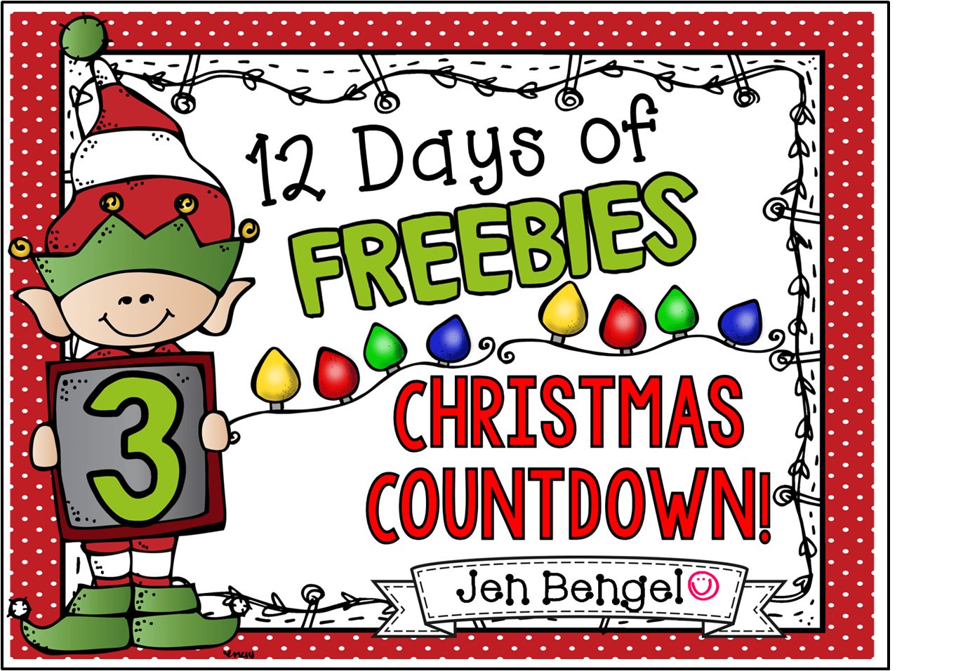 hight resolution of 12 day of christma clipart