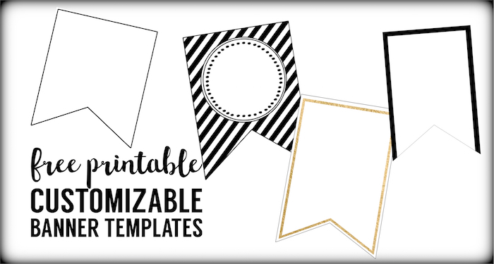 free printable banner templates