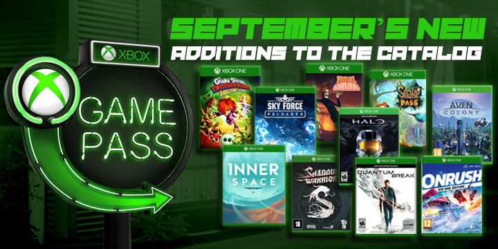 Tons Of New Games This September On Xbox Game Pass Announced