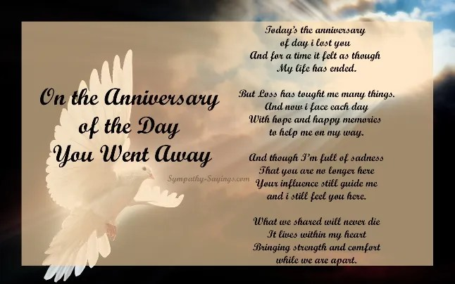 Remembrance Death Anniversary Message