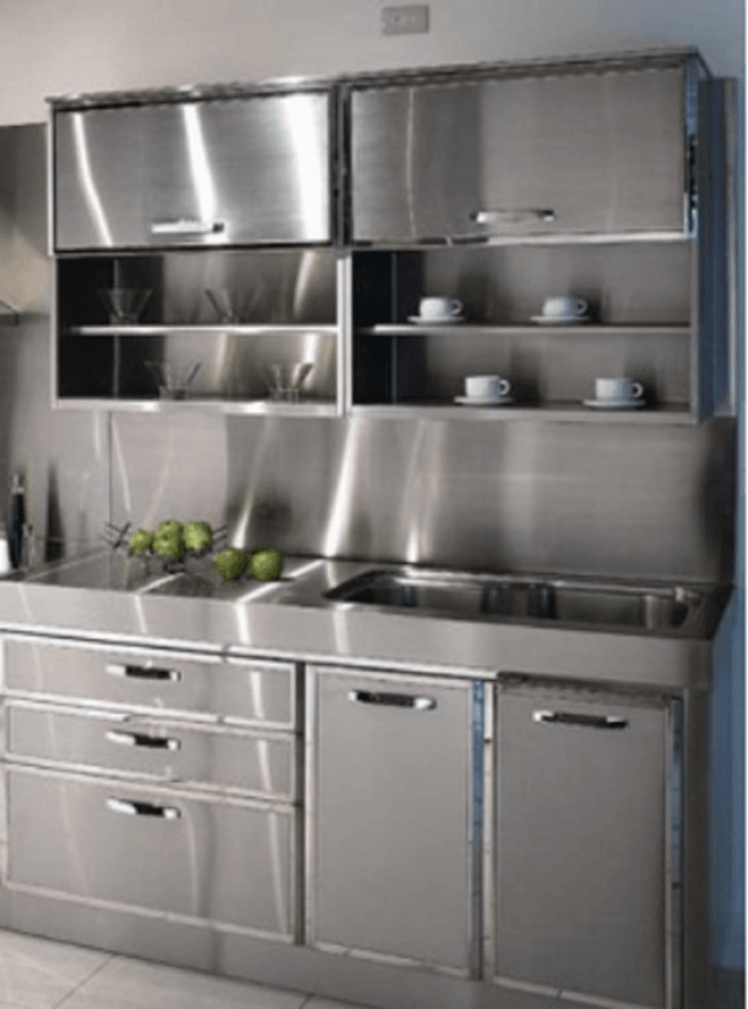 30 Metal Kitchen Cabinets Ideas Style Photos Remodel