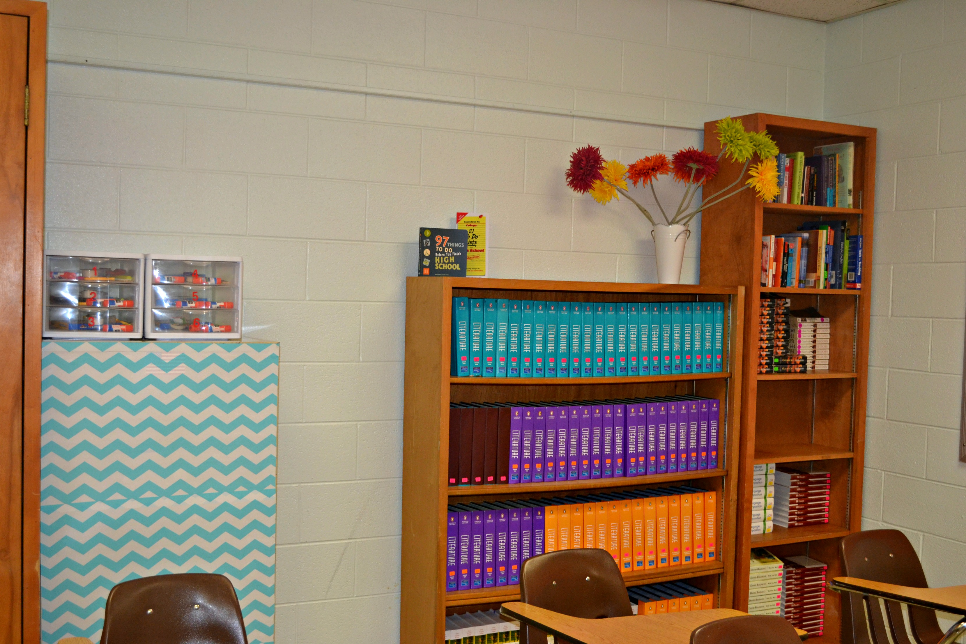 Decoration  Organization for the High School Classroom  Teaching Sam and Scout