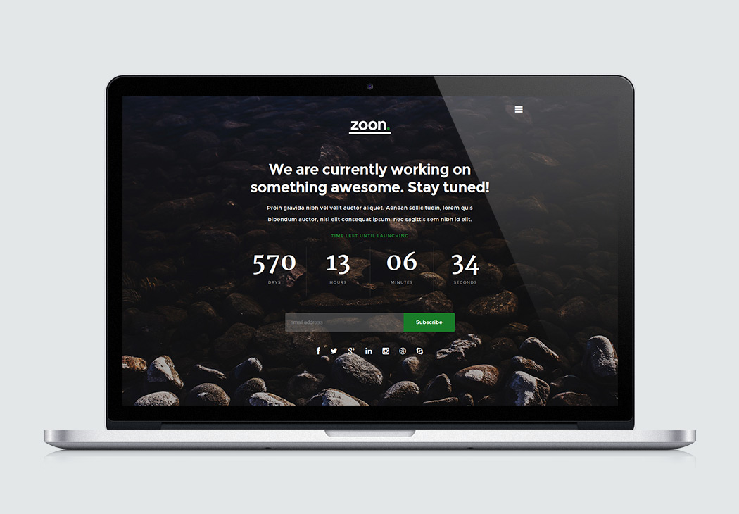 Zoon  HighQuality Free Website Template by Styleshout