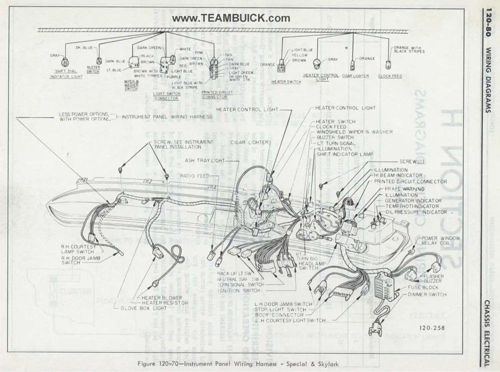medium resolution of 1967 buick wiring diagram wiring diagram database 1967 buick skylark fuse box diagram