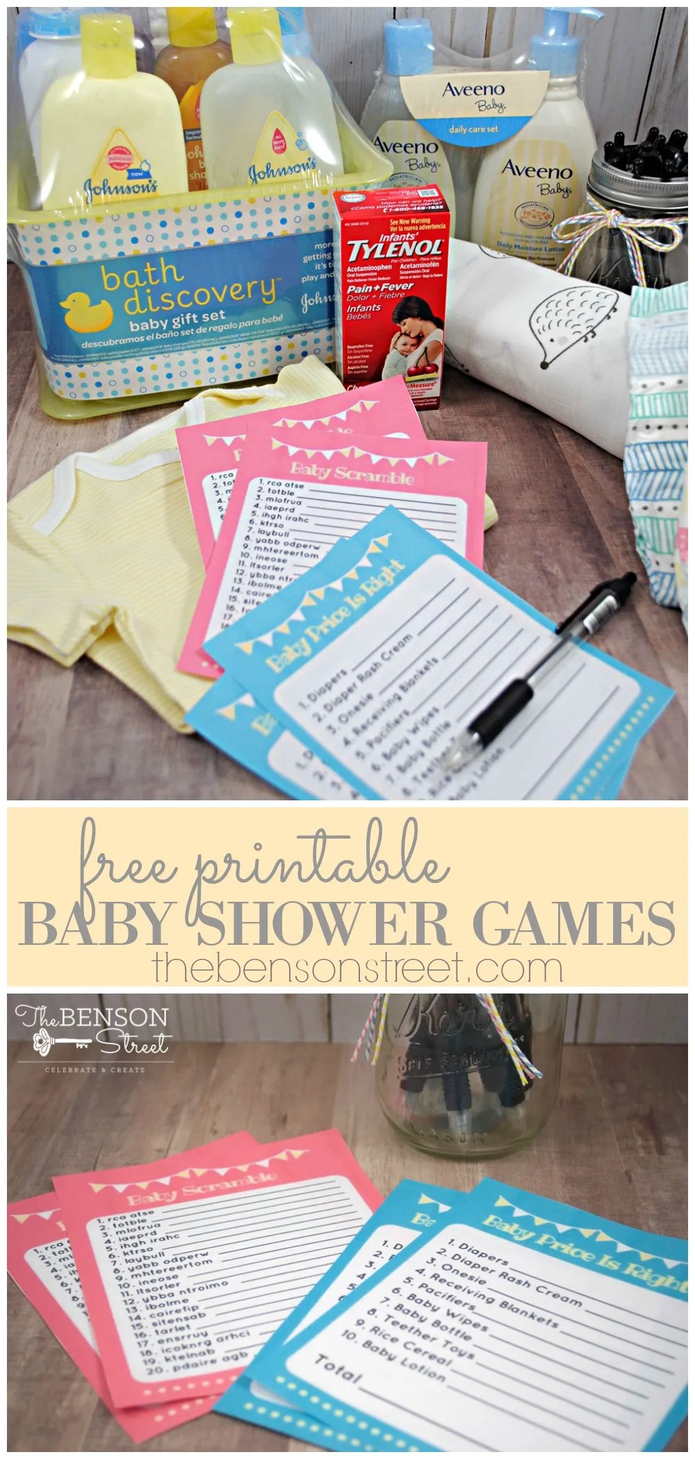 Free Printable Baby Shower Games The Benson Street