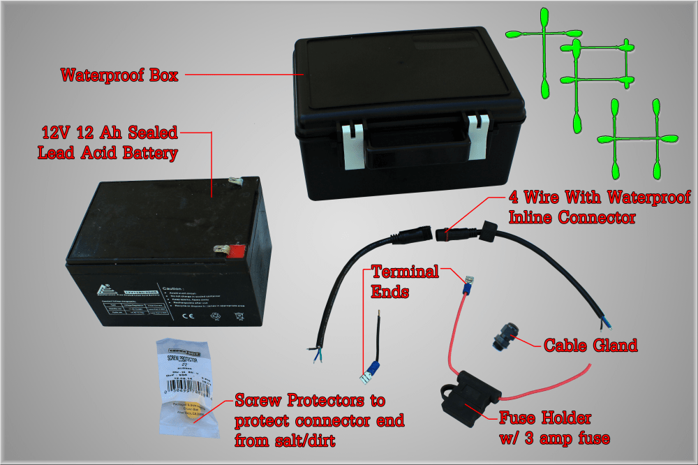 medium resolution of how to diy waterproof battery box