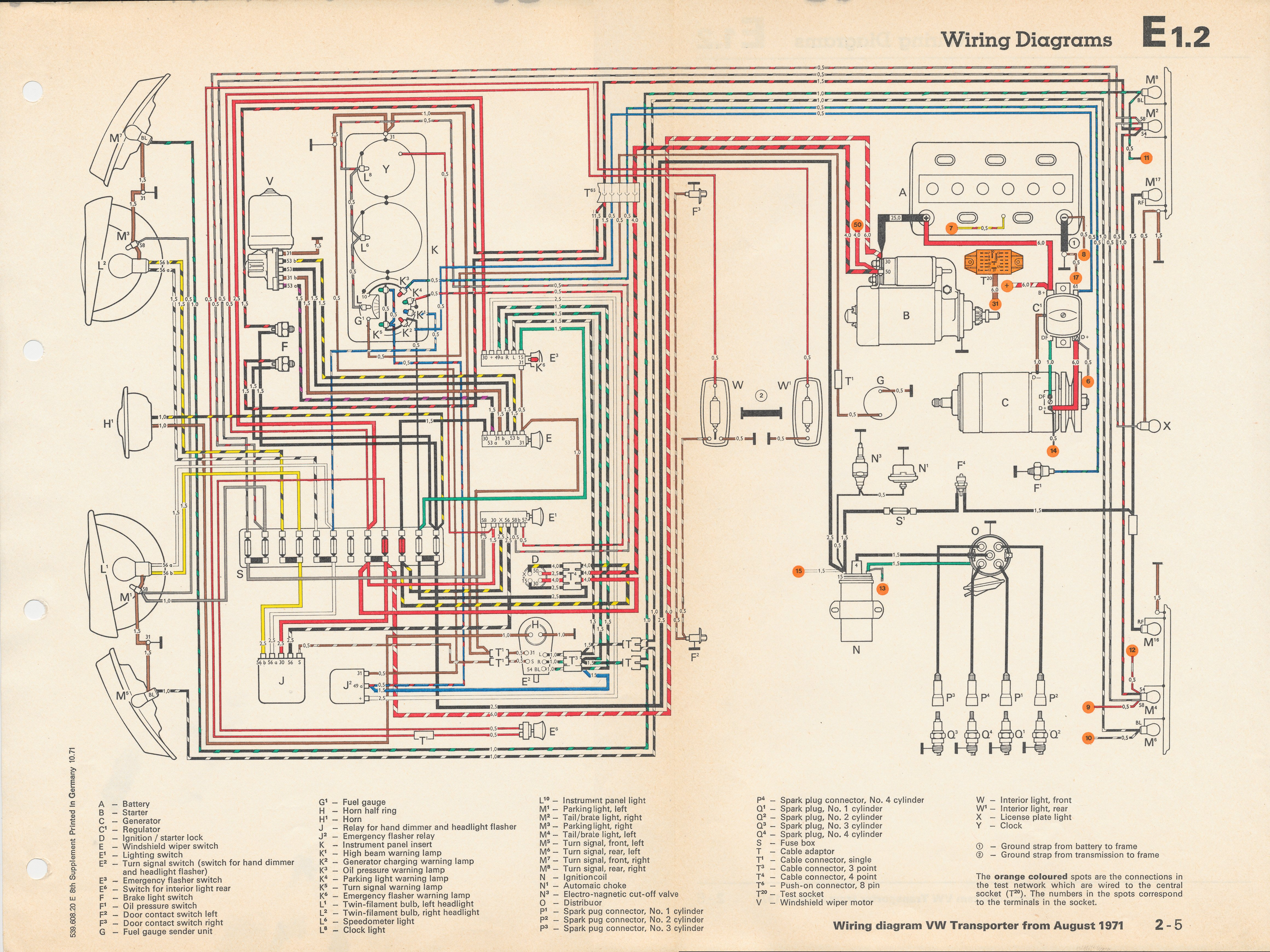1969 vw bus wiring diagram wiring diagram for light switch u2022 1967 gto tail light wiring diagram 69 charger transmission wiring diagram [ 4640 x 3480 Pixel ]