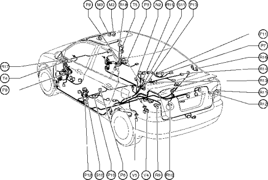 wiring diagrams toyota corolla verso body repair manual toyota