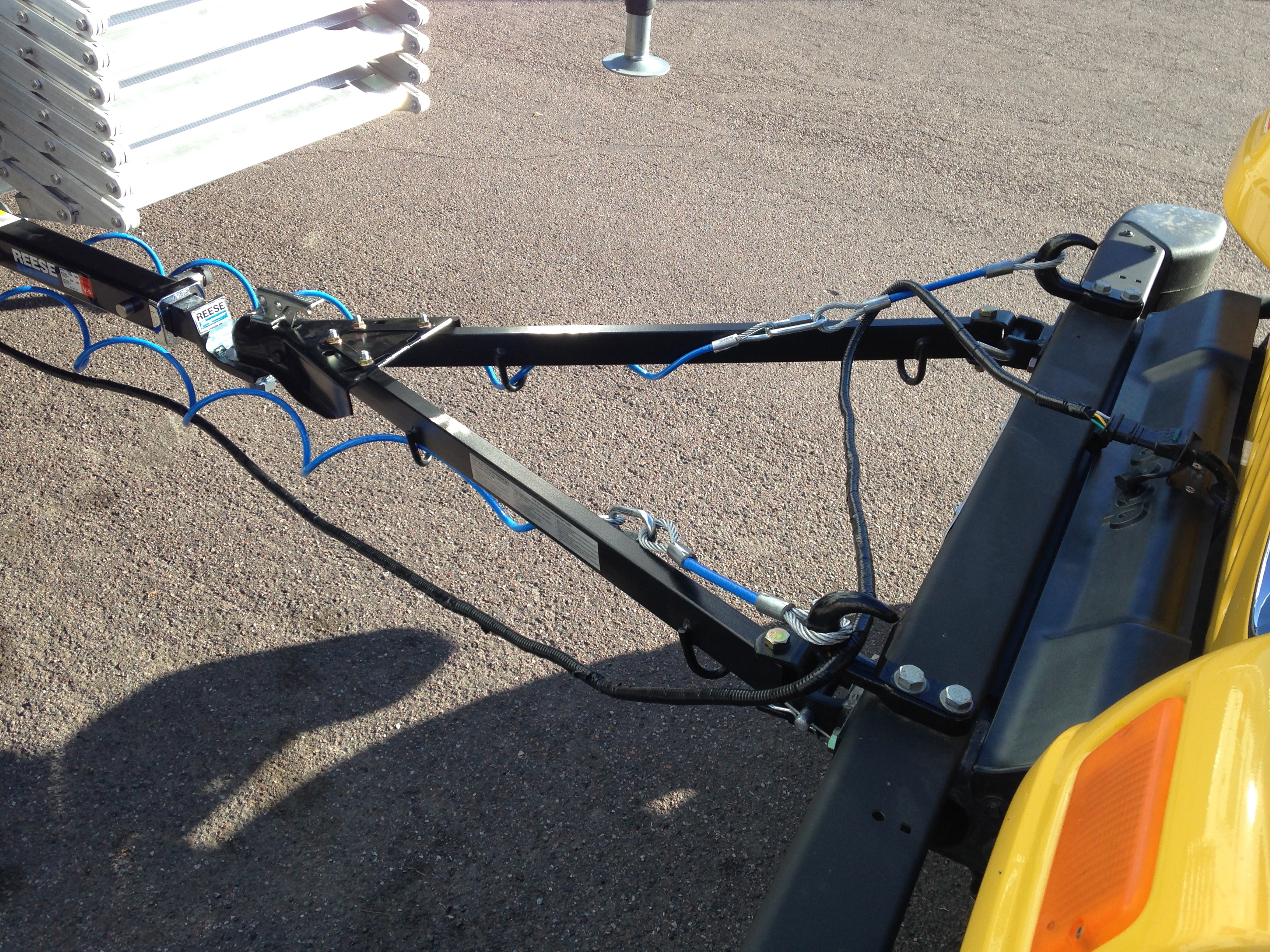 medium resolution of flat tow behind trailer wiring harnes for jeep jk motorhome