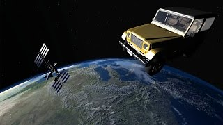 BeamNG Drive - The Ibishu Hopper Jeep - BeamNG in Space! - BeamNG Drive Gameplay Highlights