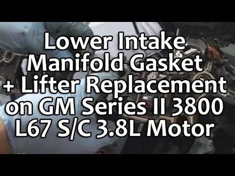 Impala Low Coolant Wiring Diagram Lower Intake Manifold Lim Gasket Lifter Replacement On
