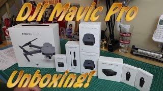DJI Mavic Pro Fly More Combo Unboxing B&H