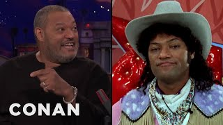 Laurence Fishburne On Playing Cowboy Curtis In ″Pee-Wee's Playhouse""