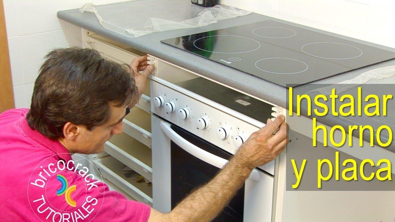 Instalar una placa de cocina y un horno Bricolaje y