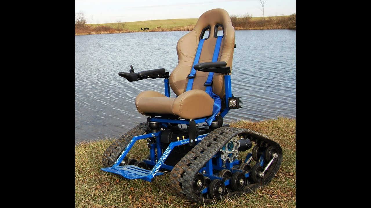TracFab Tracked Wheelchair  YouTube