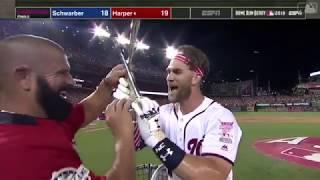 Bryce Harper 19 HRs in Finals Round of MLB Home Run Derby   2018 Home Run Derby