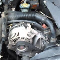 2000 Ford Explorer Radiator Diagram Led Wiring 9v Ranger Thermostat Replacement - Youtube