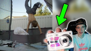 REACTING TO OLD I FOUND ON MY CHILDHOOD CAMERA!