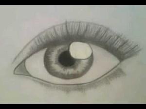 beginners draw eyes realistic eye step easy drawing drawings sketches anime subtitels german english qq