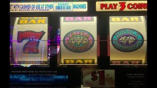 JACKPOT LIVE ! After Free Play★$270 FP 3/3★Triple Double Diamond Dollar Slot San Manuel, Akafujislot