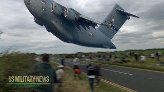 One Of Largest Military Cargo Aircraft in the World