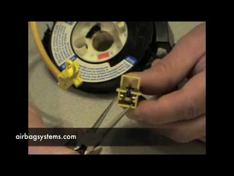 2006 Hyundai Sonata Fuse Box Diagram Airbag Systems How To Test A Clock Spring Youtube