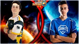 WithZack VS zTeemper ASI TE REVIENTA UN TOP! - Clash Royale