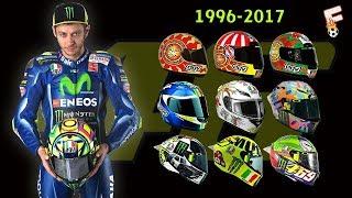 Valentino Rossi Helmets Design 1996 - 2017