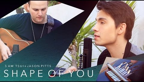 Download Music Shape of You (Ed Sheeran) - Sam Tsui LOOPING COVER ft. Jason Pitts