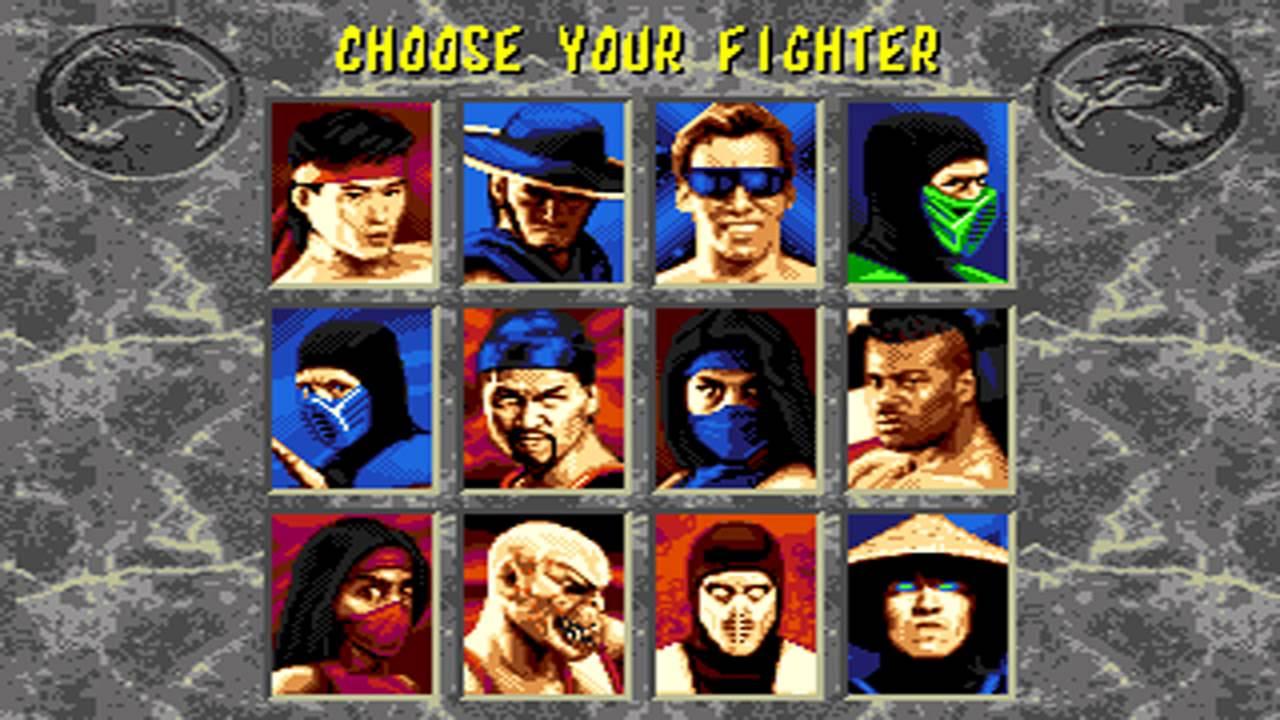 Sega Genesis Mortal Kitana Kombat